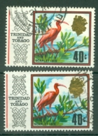 Trinidad & Tobago: 1969/72   QE II - Pictorial     SG350 / 350a    40c   [Chalk And Glazed]   Used - Trinidad & Tobago (1962-...)