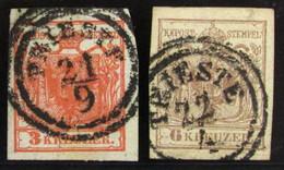 Austria 3/4 O - 1850-1918 Empire