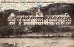 [DC7714] CPA - ROMANIA - MARELE HOTEL AL SOCIETATI - GOVORA CALIMANENESTI BAILE - Viaggiata - Old Postcard - Romania