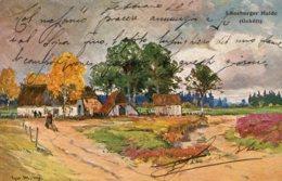 [DC7732] CPA - LUNEBURGER HAIDE (GHOFT) - Viaggiata 1903 - Old Postcard - Lüneburger Heide