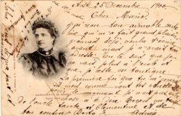 [DC7733] CPA - MARGHERITA DI SAVOIA - REGINA MADRE - Viaggiata 1900 - Old Postcard - Case Reali