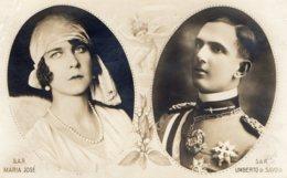 [DC7734] CPA - S.A.R. MARIA JOSE' E UMBERTO DI SAVOIA - BELLISSIMA - PERFETTA - Viaggiata 1930 - Old Postcard - Case Reali