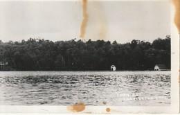 Loon Bay, Charleston Lake, Ontario  RPPC Water Marks And Back RPPC - Ontario
