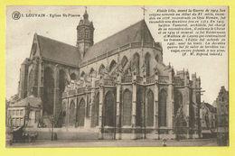 * Leuven - Louvain (Vlaams Brabant) * (Cliché F. Walschaerts, Nr 1) église Saint Pierre, Sint Pieters Kerk, Animée, Rare - Leuven