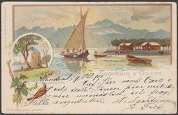 Souvenir D'Ouchy, Vaud, 1901 - Tarin/Müller Et Trüb CPA - VD Vaud
