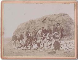 VAR - PLAN-D'AUPS-STE BAUME - 8-9- Et 10 SEPTEMBRE 1904 - AVEC LES NOMS DE QUELQUES PRESENTS SUR LA PHOTO - Lieux