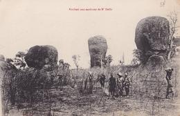 CONGO  Rochers Aux Environs De  N' DELLE ( Plan Animé ) - Congo Francese - Altri