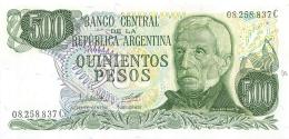 BILLET  ARGENTINE 500 PESOS - Argentine