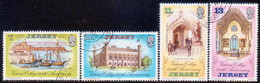 JERSEY 1977 SG #179-82 Compl.set Used Victoria College - Jersey