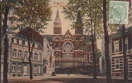 """VERVIERS ACP """"Eglise Ste Julienne Couleurs  Circulée En 1909   Voir Scans - Verviers"""