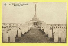 * Passendale - Passchendaele (Zonnebeke - Ieper) * (Nels) Tyne Cot Cemetery And Memorial, Central Cross, Cimetière, War - Zonnebeke