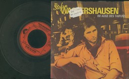 "STEFAN WAGGERSHAUSEN -IM AUGE DES TAIFUNS -DISCO VINILE 45 GIRI ""7 - Vinyl Records"