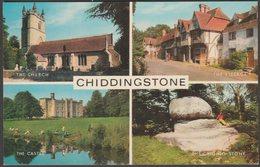 Multiview, Chiddingstone, Kent, C.1960s - Salmon Postcard - England