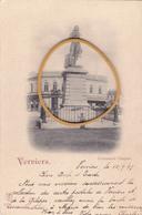 """VERVIERS ACP """"Monument CHAPUIS  """" Circulée En 1897  Voir Scans - Verviers"""