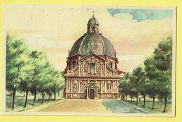 * Scherpenheuvel Zichem - Montaigu (Vlaams Brabant) * (D.M. - R.C.B. 59626) De Basiliek, La Basilique, église, Rare - Scherpenheuvel-Zichem
