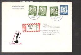 1963 R-Kiel Silhouette Hüttmann Modische Kleider Und Mäntel > Walter Reissmann Münchberg (263) - Briefe U. Dokumente
