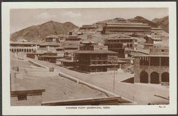 Barracks, Steamer Point, Aden, C.1920s - Lehem RP Postcard - Yemen