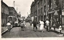 80. CPSM. ONIVAL. La Rue Principale. Commerces. Voiture Traction Citroen. - Onival