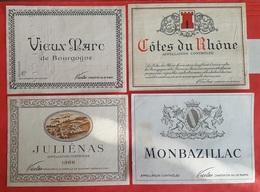 VINS - 15 ETIQUETTES - NICOLAS - CHARENTON -  VAL DE MARNE - Labels