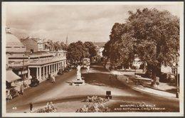 Montpellier Walk And Rotunda, Cheltenham, Gloucestershire, C.1940s - RP Postcard - Cheltenham