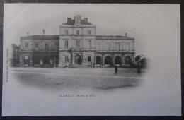 Clamecy (Nièvre) - Carte Postale Précurseur - Hôtel De Ville - Animée - Non-circulée - Clamecy
