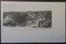 Clamecy (Nièvre) - Carte Postale Précurseur - Vue Prise De La Tour St Martin, Le Marché Et Le Crot Pinson - Non-circulée - Clamecy