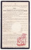 DP Henricus Peeters ° Sint-Joris-Winge Tielt-Winge 1842 † 1918 - Imágenes Religiosas