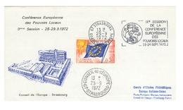 Conférence Européenne Des Pouvoirs Locaux  9° Session  STRASBOURG 25-29  Septembre 1972 - 1972