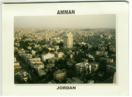 JORDAN - AMMAN - VIEW - STAMPS - VINTAGE POSTCARD (BG642) - Jordan