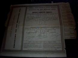 Action Obligation Emprunt  De350millions De  Franc 1909 Credit Foncier De France - Shareholdings