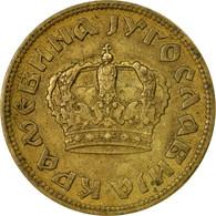 Monnaie, Yougoslavie, Petar II, 2 Dinara, 1938, TB, Aluminum-Bronze, KM:20 - Joegoslavië
