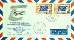 4° Conférence Européenne De L'Organisation Internationale  Conseil De L'Europe  4 Juillet 1961 - Europa-CEPT