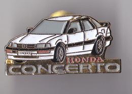 PIN'S THEME AUTOMOBILE  HONDA   CONCERTO - Honda