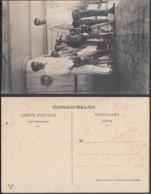 """Congo Belge 1910 - Carte Postale Nr. 58.  Chiens à Bord Du Steamer  """"Anversville""""  Ref. (DD)  DC0189 - Congo Belge - Autres"""