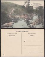 Congo Belge 1910 - Carte Postale Nr. 74.  La Rivière Luelo à Kabambare.  Ref. (DD)  DC0204 - Congo Belge - Autres