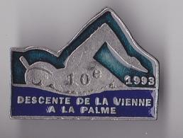 PIN'S THEME NATATION DESCENTE DE LA VIENNE  A LA PALME - Natation