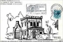 MILANO - Cinisello Balsamo - Maximum Avis Donatori Di Sangue - Annullo A Targhetta - 1979 - Cinisello Balsamo