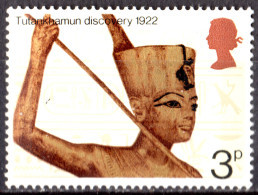 ROYAUME UNI - 50e Anniversaire De La Découverte De La Tombe De Toutankhamon - 1952-.... (Elizabeth II)