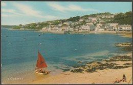 St Mawes, Cornwall, 1987 - Salmon Postcard - England