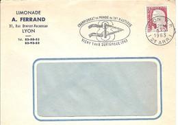 FRANCE CHAMPIONNAT MONDE SKI NAUTIQUE VICHY 1963 LIMONADE CHAMPIONSHIP WORLD WATER SKIING LEMONADE NAUTISCHER SCHI - Ski Nautique