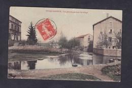 Tucquegnieux (54) Vue Pittoresque Dans Le Village ( Ed. Sabouret Cafetier ) - Frankrijk