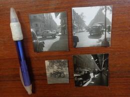 Lot De Photo Anciennes  Vieilles Voitures - Personnes Anonymes