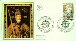Principat D'Andorre  EUROPA  Premier Jour  -26 Avril 1980 - Europa-CEPT