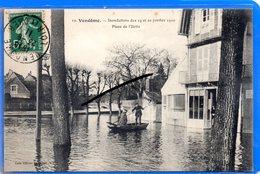 CPA 41 - VENDOME - Inondations Des 19 Et 20 Janvier 1910 - Place De L'Ilette - Vendome