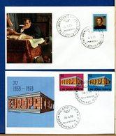 ITALIA - FDC FILAGRANO  1969  -  MACCHIAVELLI - EUROPA - 6. 1946-.. Repubblica