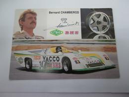Photo  Carte Postale  BERNARD  CHAMBEROD  TOJ  BMW  205 SC - Auto's
