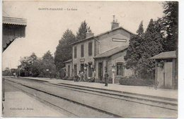 Sainte Pazanne :  La Gare (vue Intérieure) - Otros Municipios