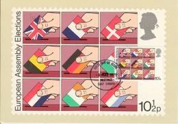 Carte Postale Anglaise  Elections De L'Assemblée Européenne  9 Mai 1979 - Europa-CEPT