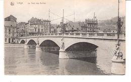 Liège-+/-1920 Pont Des Arches-Maison A.Bouvier -Rue Léopold Et Au Pauvre Diable Confection, à Côté Sur La Droite - Luik