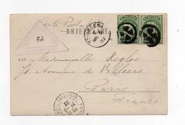 !!! SAINTE-HELENE, CPA DE DEADWOOD DE 1902 POUR PARIS, CACHET VIOLET DE CENSURE DU CAMP (GUERRE DES BOERS) - Sainte-Hélène